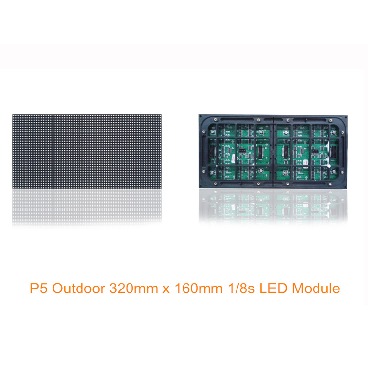 Outdoor High Brightness 8 Scan 320x160mm P5 Led Module
