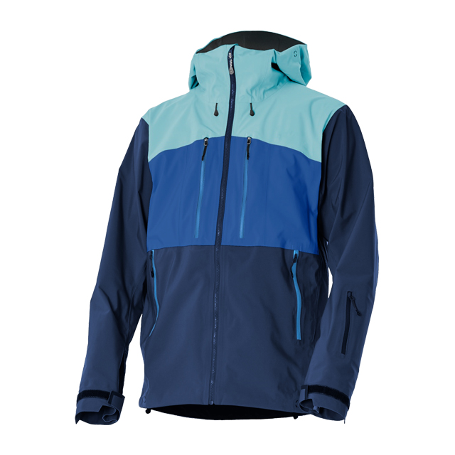 Men's Waterproof/breathable Mountain Simplicity Technical Performance Snowboard Wear Hiking Snow Jacket