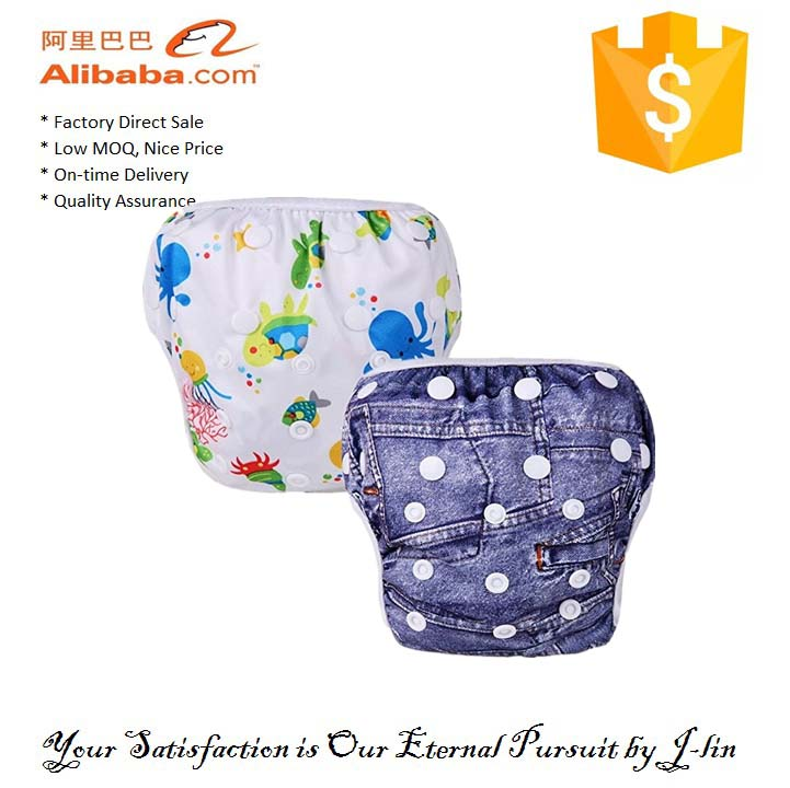 Colorful and OEM Waterproof Printed Baby Swim Underwear