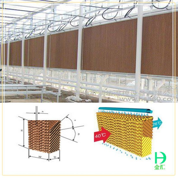 Poultry equipment price evaporative cooling pad,cooling pad water air cooler for sale