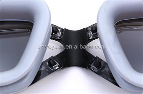 99c75464e ... Prova D  Água. Anti Fog UV Óculos de Natação Profissional Galvaniza  Óculos de Mergulho ...