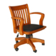 Luxury wooden executive office chair swivel chair wheel base 108FW-1