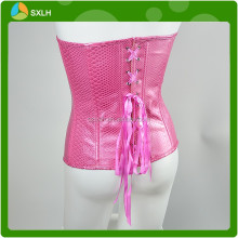 Ladies Corset, Leather Waist Cincher Bustier Corset Lingerie