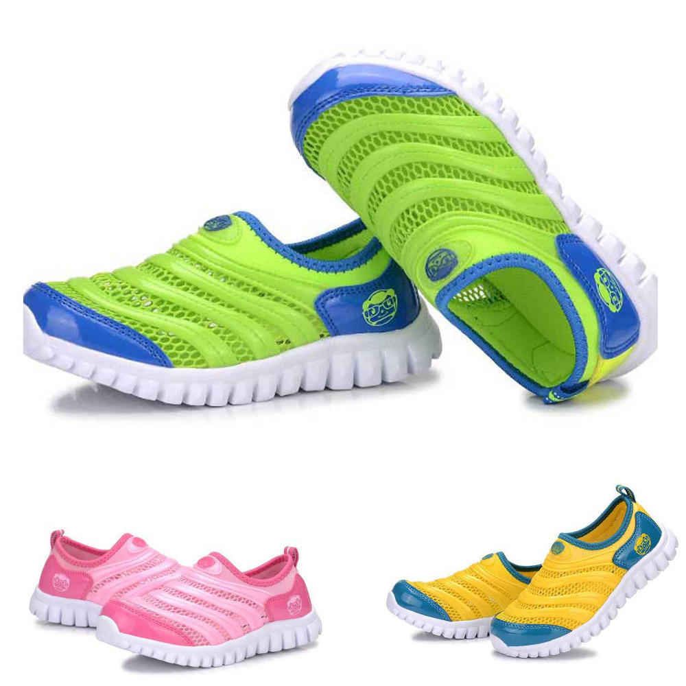 2015 Hot Sale New Children Kids breathable Sneakers Shoes For Boys Girls Flats Running Casual Shoe Size 25-37 Free Shipping