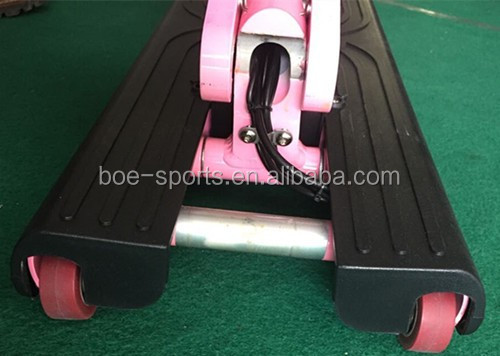 12 inch wheel 350w brushless gear covered motor pink scooter delivery