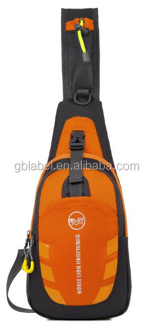 cheap wholesale nylon outdoor sports chest bag <strong>shoulder</strong> mens