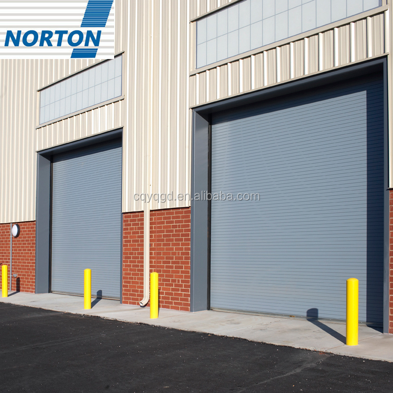 Factory Direct Sale Automatic Industrial Wind Proof Steel Roller Shutter Doors