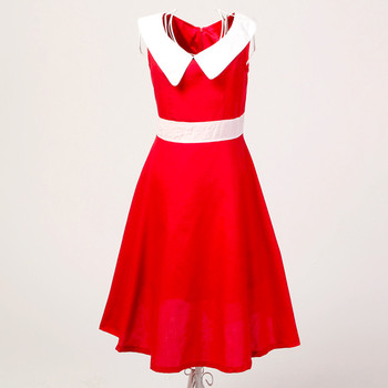 retro inspired uk design online stores wholesale red dresses for prom wedding guests
