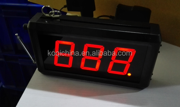 Gebruikt In Restaurant Hotel Apparatuur Met Call En Annuleren 2 Toetsen Ober Caller Systeem Menu Kaart