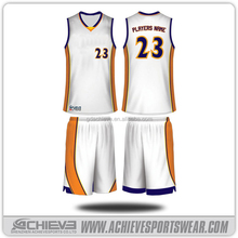 Sublimation Basketball Tops Reversible Basketball Vest