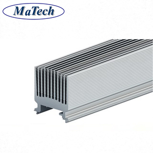 Precision Extruded Aluminum Alloy 1000mm Anodized Heatsink