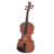 Student violin with light violin case and bow