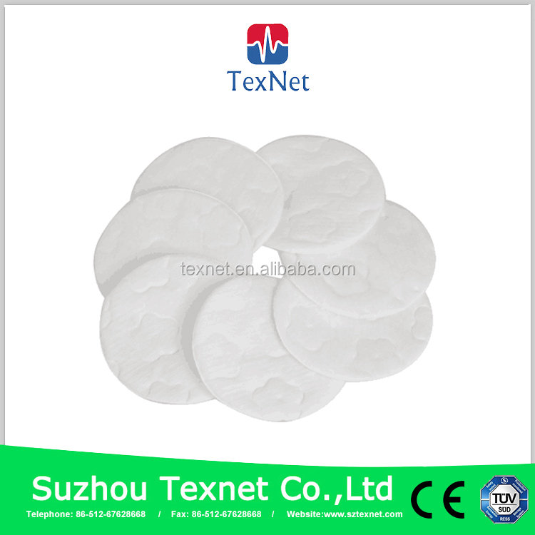CE approved makeup remover cotton pads customized available