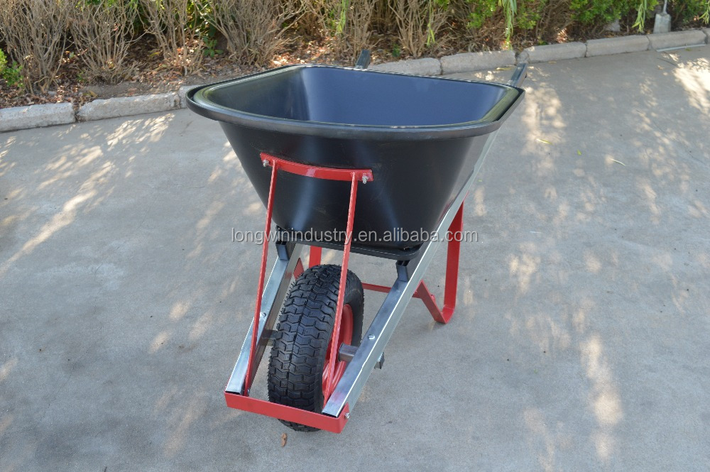 AU heavy duty various types of wheelbarrows with poly tub