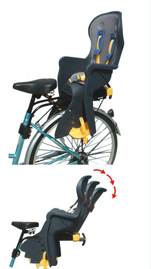bicycle safety seat / baby seat / kid bicycle seat