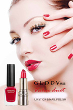Guppy High Quality Moist persistent No Fade lipstick fast dry eco friendly perfume smell Water Nail