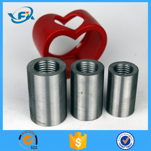 good quality hollow iron steel threaded bar rolling rebar coupler 12