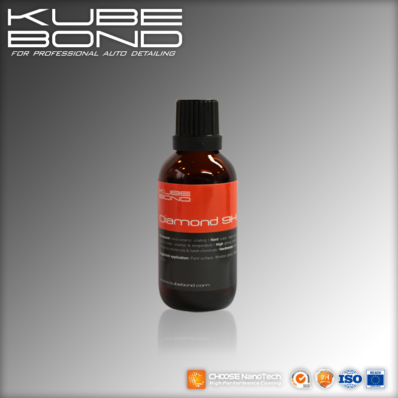 KubeBond Diamond 9H permanent nano hydrophobic coating for car detailing