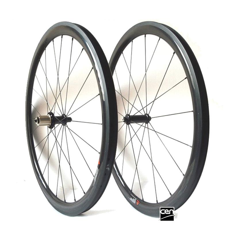 OEM lightweight cheap carbon 20 24 38 45 50 60 88 wheels 700C road 23/25 width clincher tubular bicycle wheel