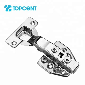 Topcent 3D adjustable stainless steel concealed furniture cabinet soft close hinges