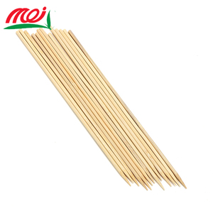 Disposable bamboo shrimp skewers