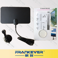 Digital Indoor Omni Directional Flat Design High Gain HD TV UHF VHF TV Antenna