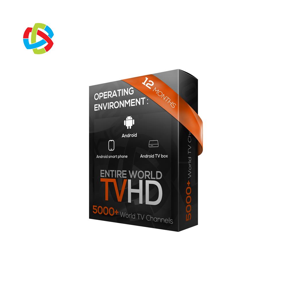 アラビア米国 12 ヶ月 IPTV サブスクリプションチャンネルセットトップボックス iptv と m3u リセラーパネル