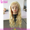 Body Wave Brazilian Virgin Human Hair Full Lace Wigs Glueless Full Lace 613 Blonde Wig