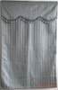 Different kinds of 100% polyester jacquard curtain valance for decor home