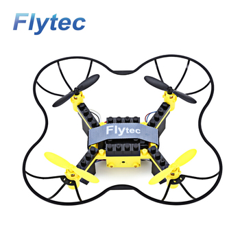 Flytec T11S DIY RC Drone WIFI Control Drone FPV 0.3MP Camera Altitude Mini Drone Yellow