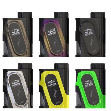 New Arrival iJoy CAPO 100W Squonk Box Mod With 20700 Battery Black,Yellow,Green