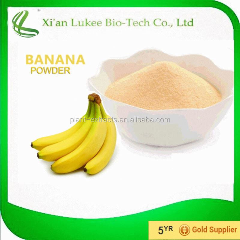 High quality natural green banana flour/green banana powder