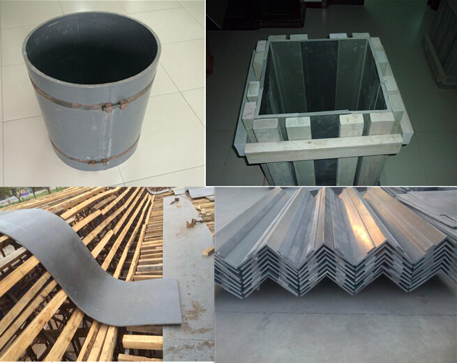 Lanke Foam Pvc Plastic Concrete Sheets Formworks Panel
