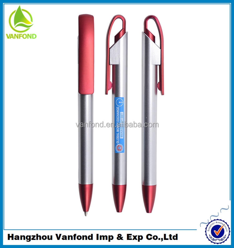 Factory supply promotional ball pen install suitable for European market pen refills