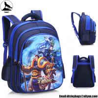 2018 New style 3D EVA Print cartoon animation backpack Students school bags