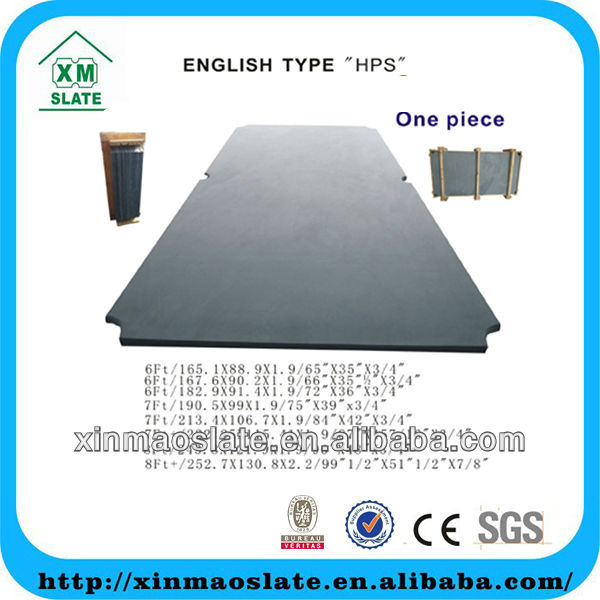 low price black billard table slate TQSB-7F19