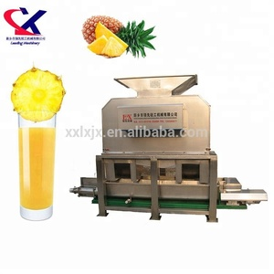 Industrial Fresh Pineapple Fruit Pulp Juice Making Machine