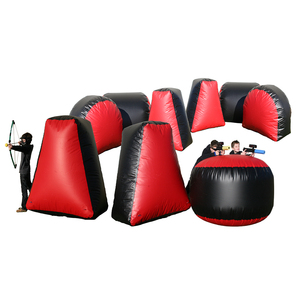 Hot Sale buy Paintball Area, Inflatable Bunkers for shooting games