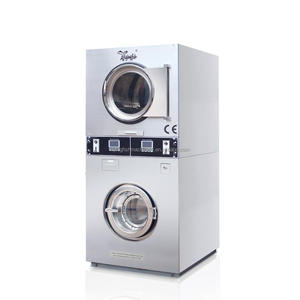 double plastic washing machine and dryer