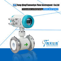 smart water price magnetic flow meter