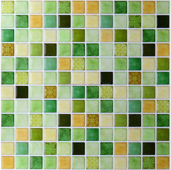 Most popular and cost-effective mosaic self adhesive vinyl tile backsplash