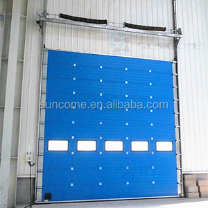 CE ISO Proved China Supplier Warehouse Industrial Sectional Overhead Door