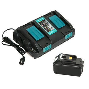 Free shipping dual port charger replace for makit battery 18v lithium ion battery charger DC18RD