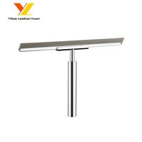 Shower Squeegee for Bathroom Mirror and Shower Door Wiper/Window Glass Cleaning Brush