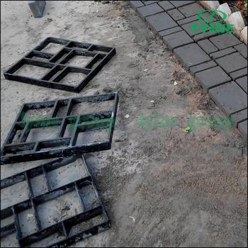 Paving Brick Patio Walk Maker DIY Plastic Pavement Mold Garden Paving Stone  Concrete