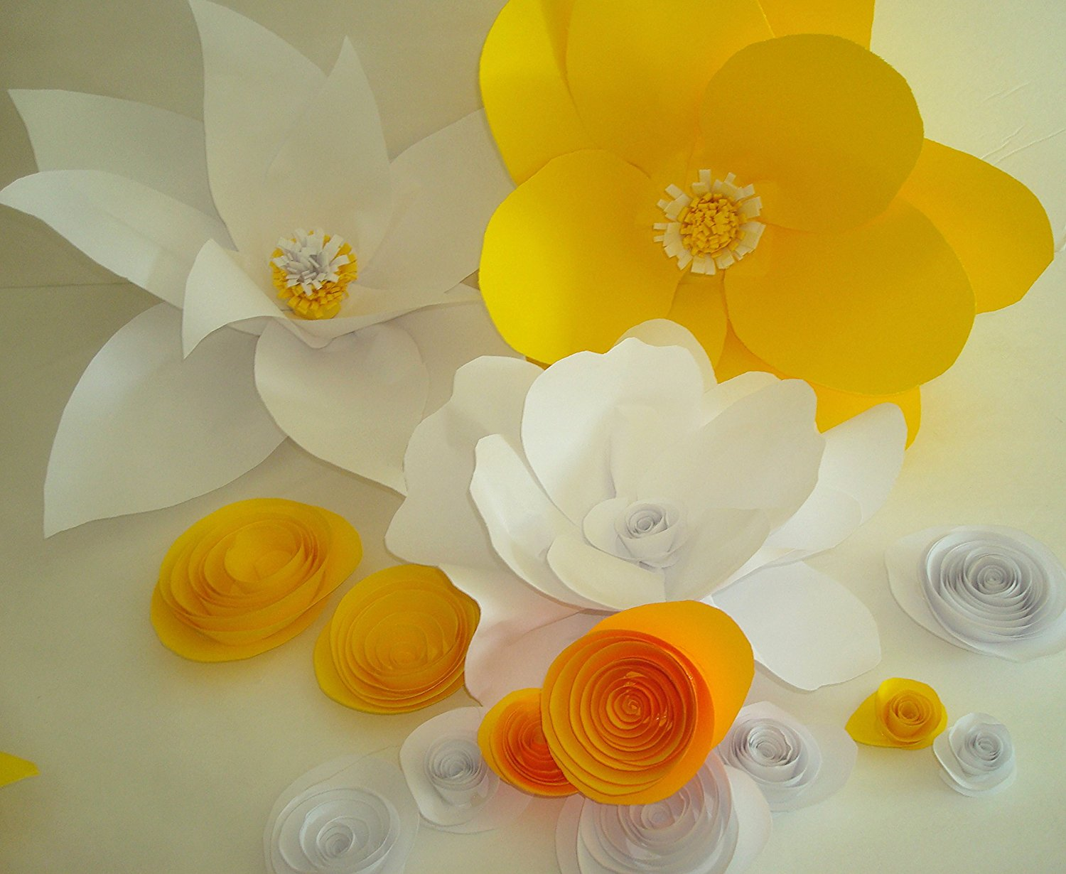 Cheap Large White Paper Flowers Find Large White Paper Flowers