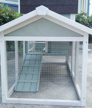 Farm Used Yard Wooden Chicken Coops Rabbit Hutch With Nesting Box Pet Cage Factory With Run TUV FSC Certificated