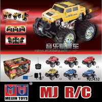 Big scale rc truck 4ch high speed rc monster truck rc hobby wholesale
