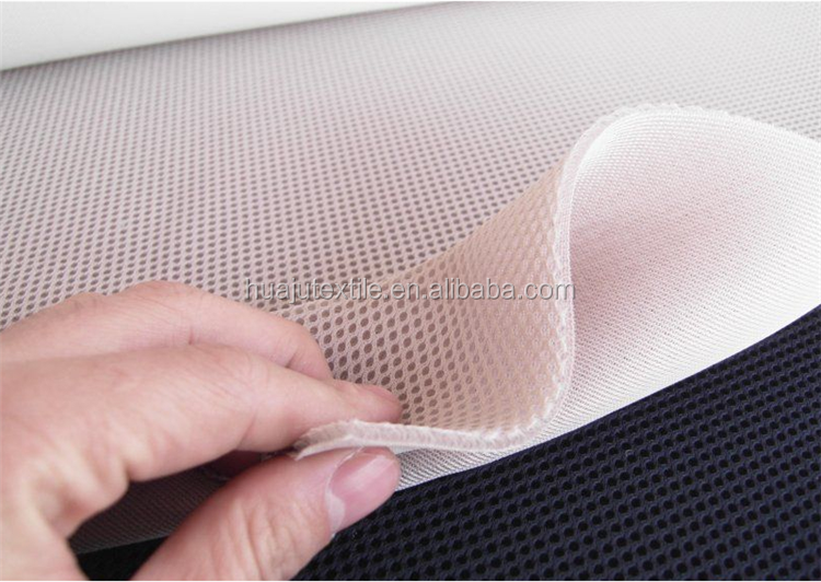 100% Polyester Stretch Quick Dry 3D Air Outdoor Mesh Fabric For Motorcycle Seat Cover
