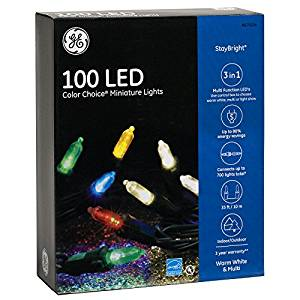 Ge Staybright 100 Count Multi Function